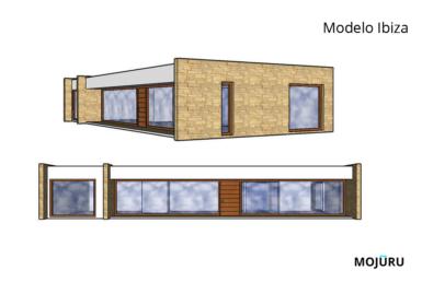 casa prefabricada Ibiza | Mojuru Modular buildings