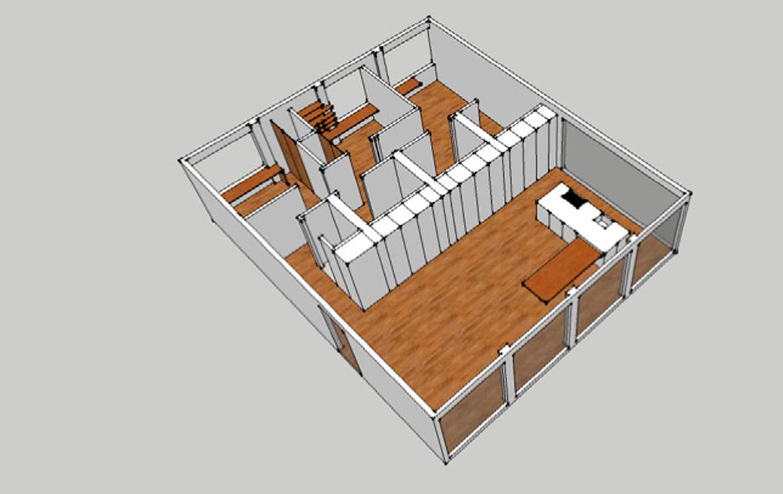 Casa prefabricada modelo nantes mojuru modular buildings for Construccion modular prefabricada