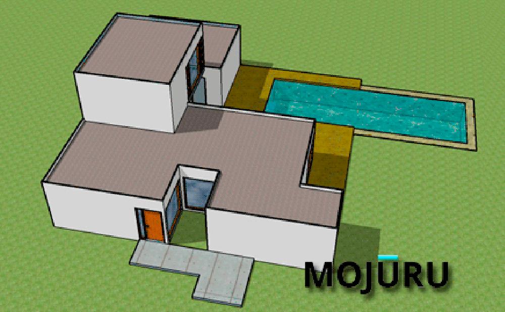 casas prefabricadas con isocontainers Mojuru modelo Catania