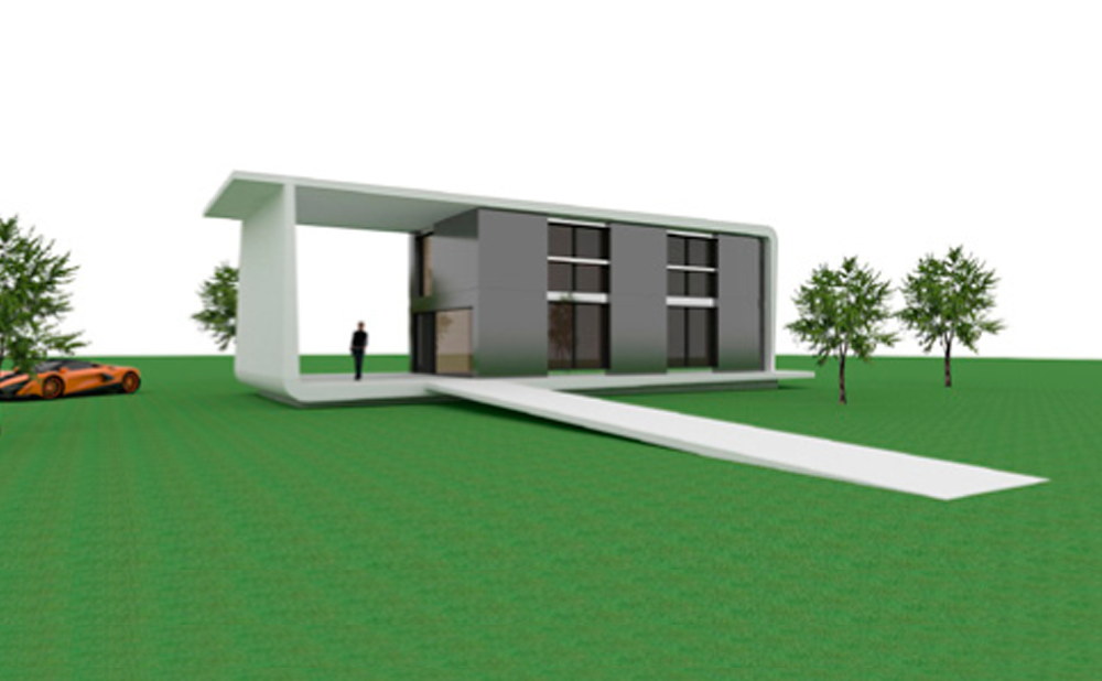 Casa prefabricada modelo viena mojuru modular buildings - Casa modular prefabricada ...