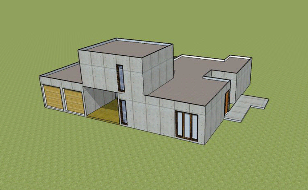 Casa prefabricada Gent Mojuru modular buildings