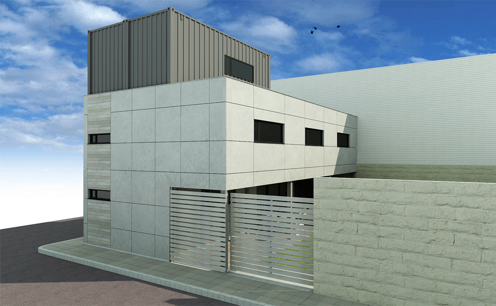 Casa Contenedores Mojuru Beniparell