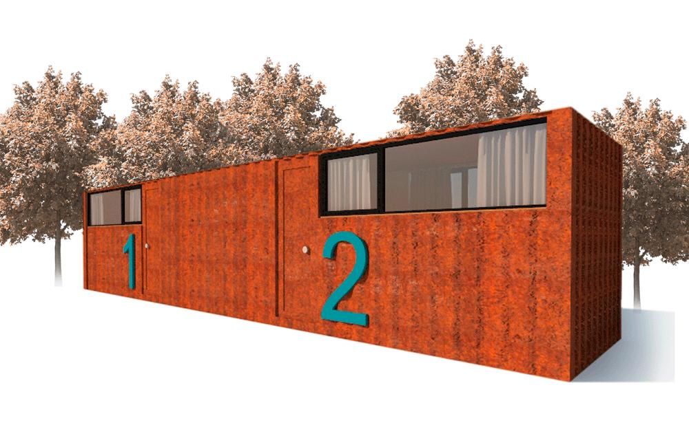 Habitación Standard Paddock Mojuru Modular Buildings
