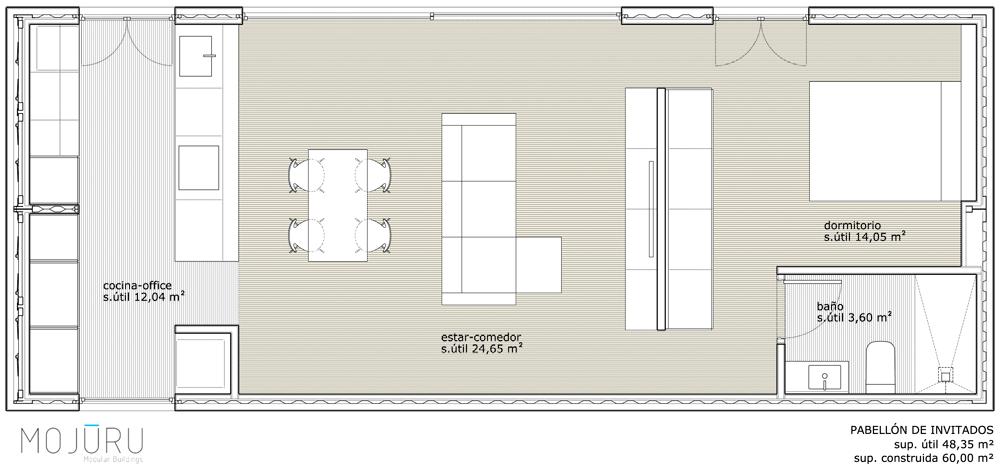 Casa con contenedores Sankt Moritz | Mojuru Modular Buildings
