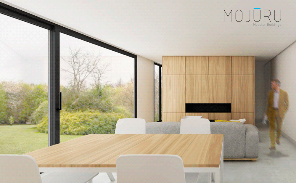 Casa con contenedores Sankt Moritz   Mojuru Modular Buildings