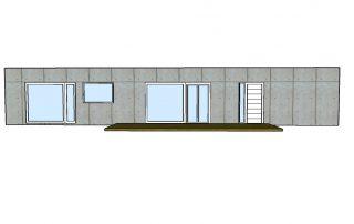 Casa Container Modelo Oxford ALZADO PPAL